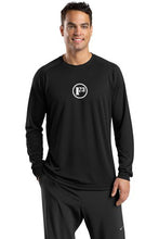 Black Dry Zone Long Sleeve Raglan T-Shirt