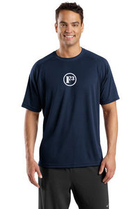True Navy Dry Zone Short Sleeve Raglan T-Shirt