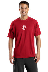 True Red Dry Zone Short Sleeve Raglan T-Shirt