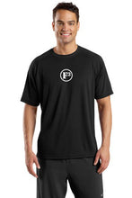 Black Dry Zone Short Sleeve Raglan T-Shirt