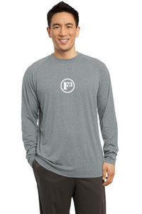 Heather Grey Long Sleeve Ultimate Performance Crew