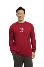 True Red Long Sleeve Ultimate Performance Crew