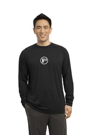Black Long Sleeve Ultimate Performance Crew