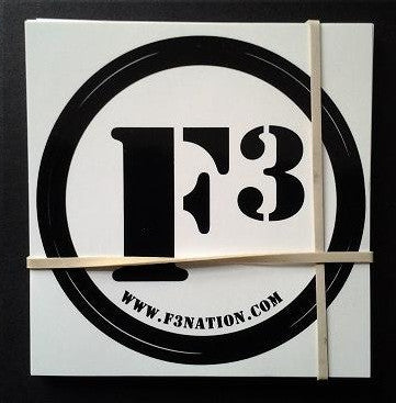 F3 Stickers 30 Pack