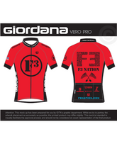 2018 Official F3 Race Jersey - Giordana Vero Pro Cycling Kit Pre-Order