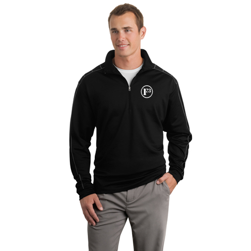 F3 Nike Golf Dri-FIT Half-Zip Cover-Up - Made to Order
