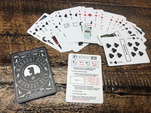 F3 Workout Deck - Waterproof Beatdown Box Card Deck