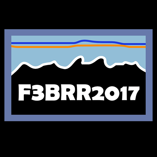 F3 2017 BRR Patches Pre-Order