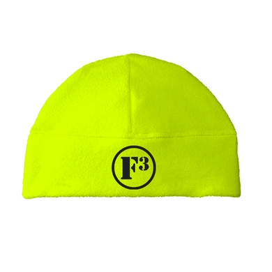 F3 Safety Yellow Beanie