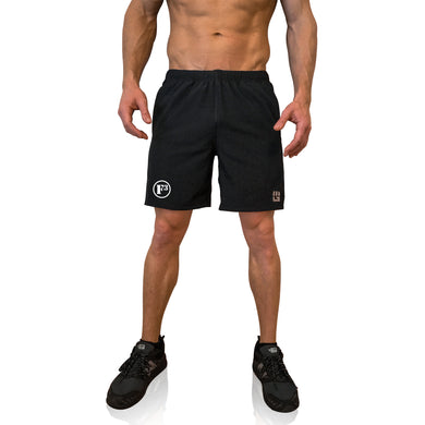 F3 MudGear Men's Freestyle Shorts (Black)