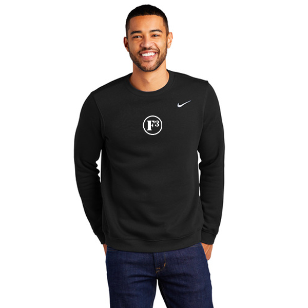 F3 Nike Club Fleece Crew - Made to Order