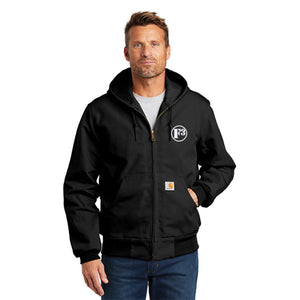 F3 Carhartt Men's Thermal-Lined Duck Active Jacket - Made to Order