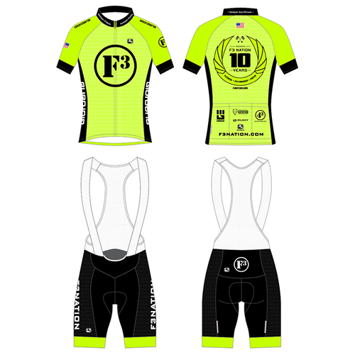 F3 10th Anniversary Cycling Kit Pre-Order January 2021