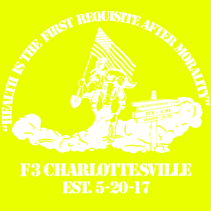 F3 Charlottesville Reflective Shirts Pre-Order 03/19