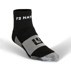 F3 Nation MudGear Trail Socks (2-pair pack)