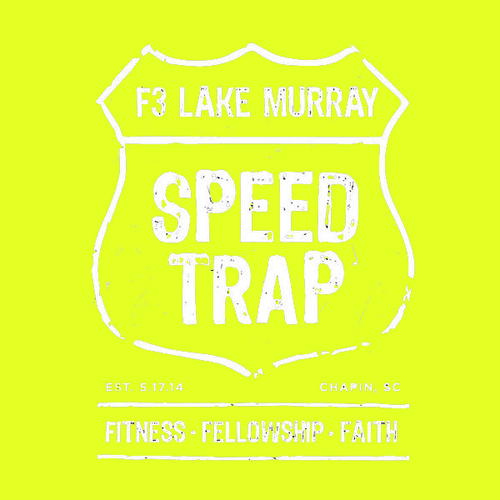 F3 Lake Murray Speed Trap Reflective Shirt Pre-Order