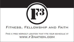 F3 Biz Cards 250 Pack