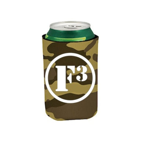 F3 Can Cooler (Tan Camo)