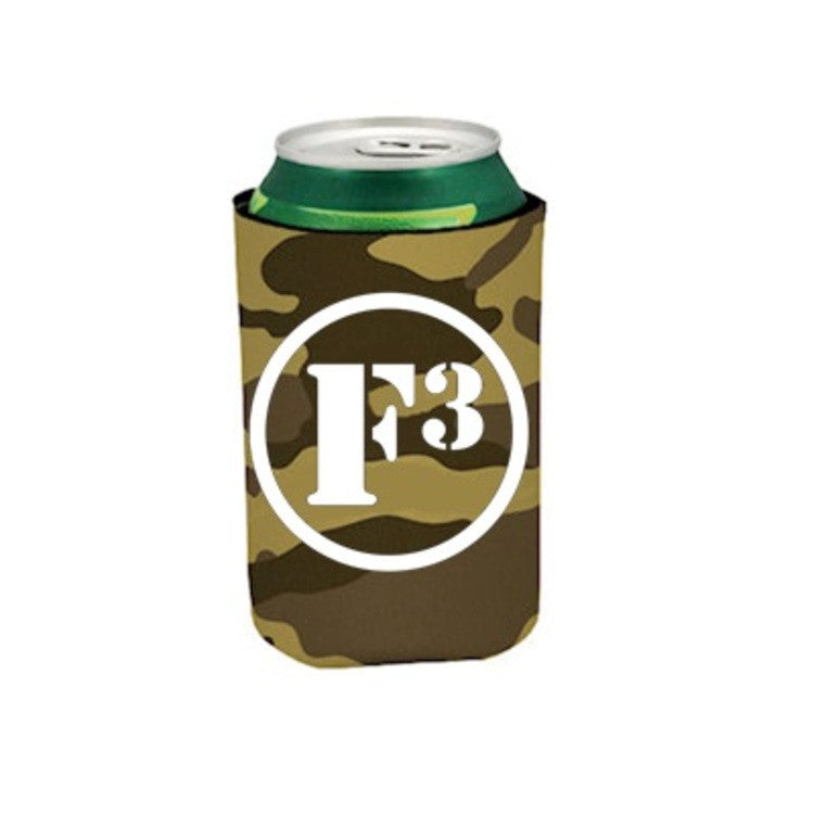 F3 Can Coolers 30 Pack (Tan Camo)