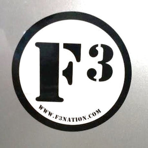 F3 Car Magnet
