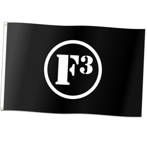 F3 Knitted Polyester Flag