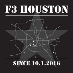 F3 Houston Anniversary Shirt Pre-Order
