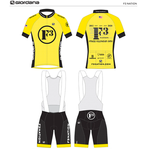 F3 2020 Cycling Kit Pre-Order Feb 2020