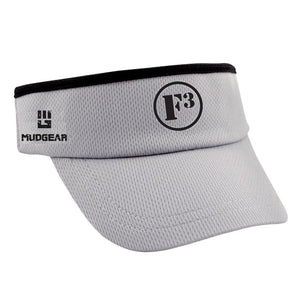 F3 MudGear Performance Visor - Gray