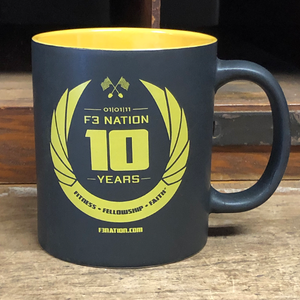F3 10th Anniversary Coffee Mug