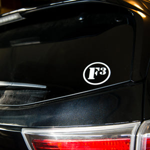 F3 Vinyl Transfer Stickers