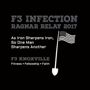 F3 Infection Ragnar Relay 2017 Pre-Order