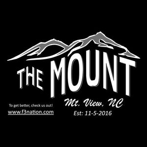F3 The Mount Shirt Pre-Order