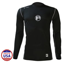 F3 MudGear Fitted Race Jersey V3 Long Sleeve (Badass Black) - Made to Order