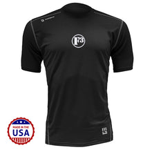 F3 MudGear Fitted Race Jersey V3 Short Sleeve (Badass Black) - Made to Order