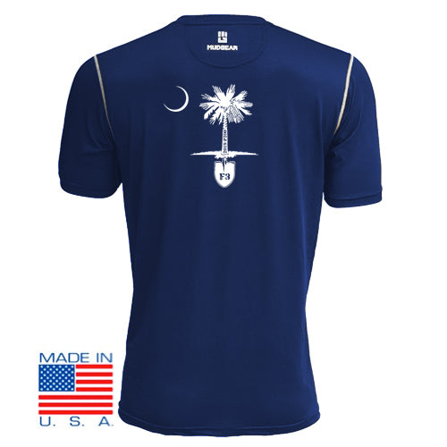 F3 2019 Palmetto 200 Relay- MudGear V3 Shirts Pre-Order (Navy)