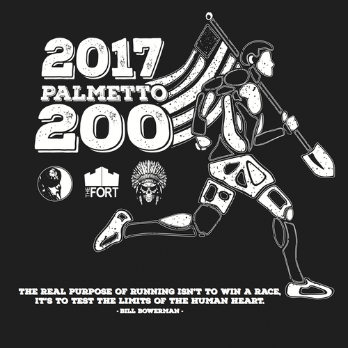 F3 The Fort - 2017 Palmetto 200 Shirt Pre-Order