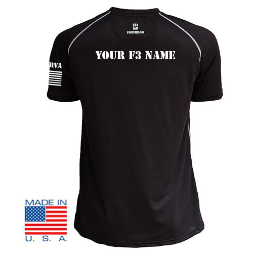 F3 RVA Shirts with Custom Names  Pre-Order 08/19