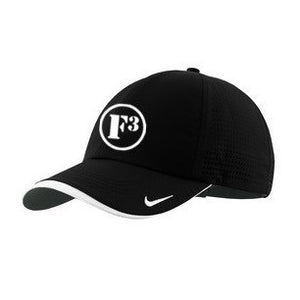 F3 Nike Golf Dri-FIT Swoosh Perforated Cap - Made to Order