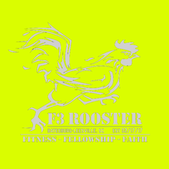 F3 Rooster Reflective Shirt Pre-Order