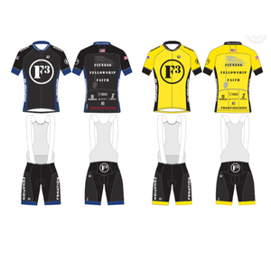 F3 Cycling Jersey and Bib Short Pre-Order