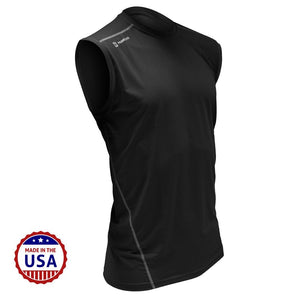 F3 MudGear Fitted Race Jersey V3 Sleeveless (Black) - Made to Order