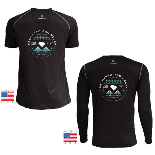 F3 Palmetto 200 Relay - MudGear V3 Shirts Pre-Order (Black)