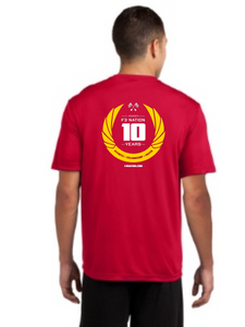 F3 10th Anniversary Sport-Tek  Tall PosiCharge Competitor Tee Shirts Pre-Order January 2021