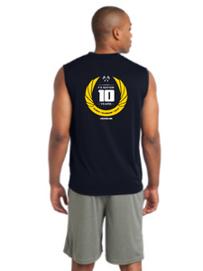 F3 10th Anniversary Sport-Tek Sleeveless Tee Pre-Order January 2021