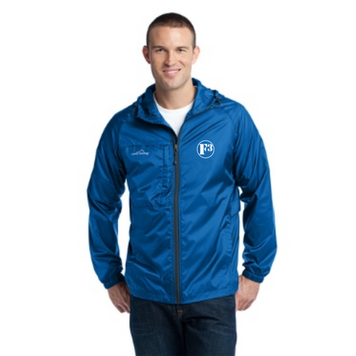 F3 Eddie Bauer Packable Wind Jacket- Made to Order