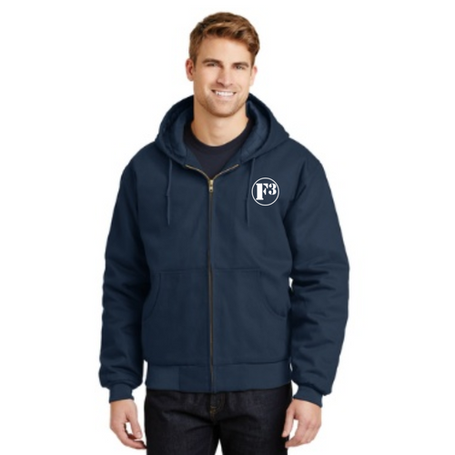 F3 CornerStone Duck Cloth Hooded Work Jacket - Made to Order