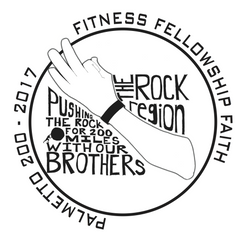 F3 The Rock Region - 2017 Palmetto Shirt Pre-Order