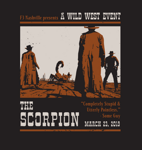 F3 Nashville The Scorpion CSAUP Pre-Order