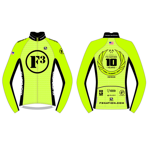 F3 10th Anniversary Thermal Jersey Pre-Order January 2021