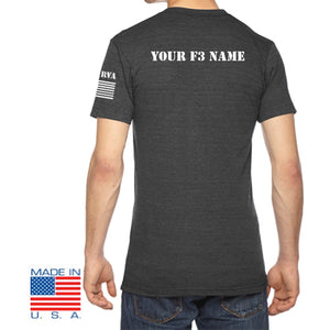 F3 RVA Shirts with Custom Names  Pre-Order September 2020
